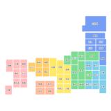 CSSだけで作るレスポンシブ日本地図 - thumbnail